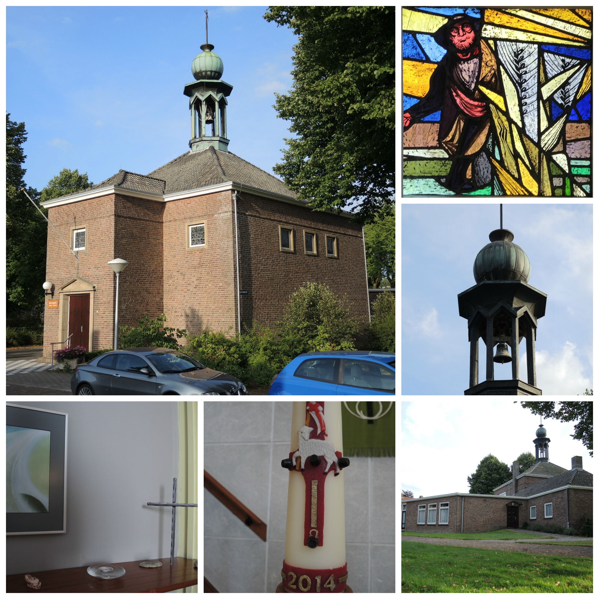 Kerk collage